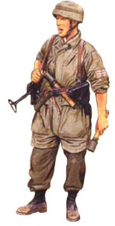 LUFTWAFFE - Fallshirmjaeger, 7 Fallshirmjaeger Division, Creta, 1941