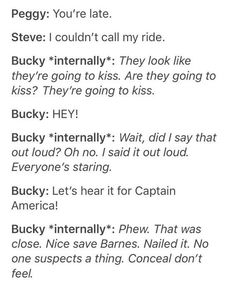 This is so funny! And makes that cringey 3 cheers moment easier to watch! This is so funny! And makes that cringey 3 cheers moment easier to watch! Avengers Memes, Marvel Memes, Marvel Dc Comics, Marvel Avengers, Loki, Bucky And Steve, Pokemon, Marvel Actors, Marvel Funny
