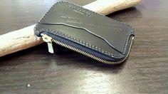 コインケースとロゴのステンシル作成|88's Leather(パパズ レザー)奮闘記
