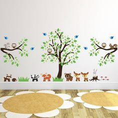 Are you interested in our tree wall stickers? With our woodland wall stickers you need look no further.