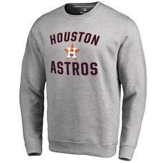 Houston Astros Victory Arch Pullover Sweatshirt - Ash - $49.99