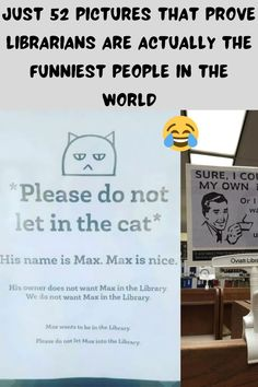 We don't know why librarians get such a bad rep. For whatever reason, when you think of a librarian, most people think of a stuffy, overly bookish type person—certainly not an unsung hero of comedy.