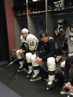 New Pens Ian Cole and Ben Lovejoy.