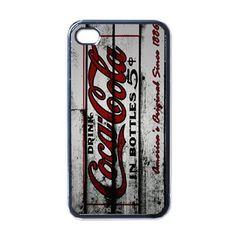 Aplle iPhone Case - Vintage Coca Cola Drink - iPhone 4 Case Cover #phonecase #iphone4case