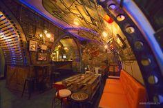 Industrial-steampunk Submarine Themed Pub   Bored Panda