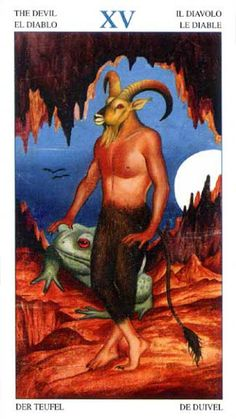 The Devil - Tarot of the Animal Lords