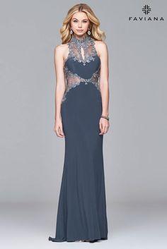 NEW ARRIVAL | Faviana | Party Dress Express | 657 Quarry Street | Fall River, MA | 508-677-1575 | #Prom2017 #PromDress #faviana