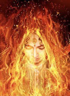 Flame Art, Krishna Art, Krishna Images, Radhe Krishna, India Art, Shiva Shakti, Indian Art Paintings, Durga Goddess, God Pictures