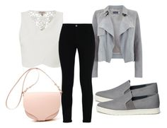 """""""Untitled #3076"""" by evalentina92 ❤ liked on Polyvore featuring Lipsy, Mint Velvet, STELLA McCARTNEY and Vince"""