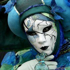 Venetian Carnival Masks by Davidh1947, via Flickr