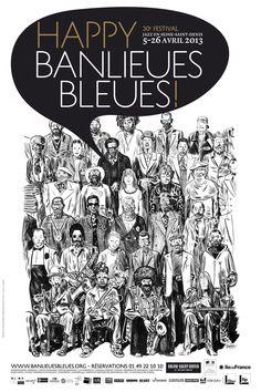 Blutch - Happy Banlieues Bleues