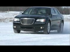 Chrysler Group tests the all-wheel drive systems in the 2013 Dodge Charger Sport and 2013   Chrysler 300 Glacier on snow-covered roads in Michigan's Upper Peninsula.