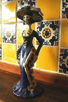 Love this tile! La Catrina in Guadalajara, Mexico de México by Wonderlane, via Flickr