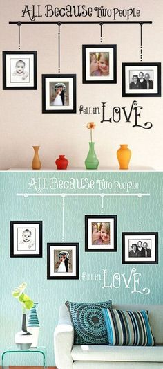 All Because Two People Fell in Love Wall Art ♥