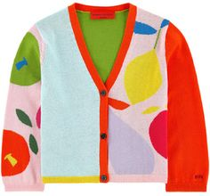 Sonia Rykiel Enfant - V-necked cardigan - 207945 Sonia Rykiel, Winter Date Outfits, Kids Outfits, Cool Outfits, Colourful Outfits, Character Outfits, Kids Fashion, Fashion Design, Aesthetic Clothes
