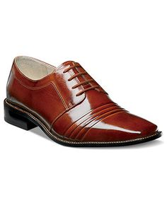 Stacy Adams Raynor Plain Toe Lace-Up Shoes - Shoes - Men - Macy\'s