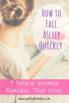 Insomnia Remedies How to Fall Asleep Quickly - 9 Natural Insomnia Remedies That Work - But what the heck do you DO when you just can't fall asleep? Here are some natural insomnia remedies that really work. Insomnia Help, Insomnia Causes, Natural Remedies For Insomnia, Natural Cures, How To Fall Asleep Quickly, Herbs For Sleep, Natural Sleeping Pills, Food For Digestion