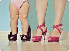 Like mommy like daughter - how cute is this? Wish I'd have done this pic w/ my girls! They loved my heels.