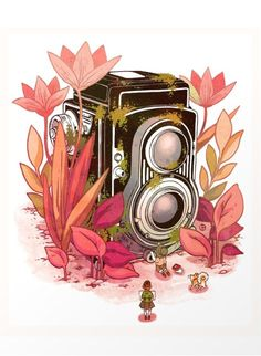 Camera print by Cleonique Hilsaca