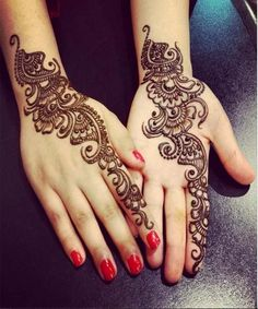 Mehndi design is extremely very famous for every occasion. Everyone can find best mehndi design for any festival. Simple and Easy Mehndi Designs Images. Henna Hand Designs, Eid Mehndi Designs, Latest Simple Mehndi Designs, Mehndi Designs Finger, Bridal Henna Designs, Mehndi Simple, Mehndi Patterns, Mehndi Designs For Hands, Bridal Mehndi