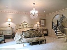Sumptuous: Beyonce is said to be preparing to splash out $5.9 million on this six bedroom Houston mansion for her mother Tina Knowles