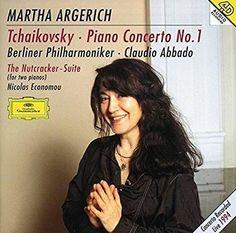 Pyotr Il'yich Tchaikovsky & Claudio Abbado & Berlin Philharmonic Orchestra & Martha Argerich & Nicolas Economou & & 2 more - Tchaikovsky: Piano Concerto No. 1 / The Nutcracker Suite for two pianos