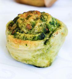 Potato snails, contacts with wild garlic and spinach stuttgart … - Brot Vegan Snacks, Snack Recipes, Wild Garlic, Party Snacks, Bread Baking, Soul Food, Anton, Brunch, Veggies