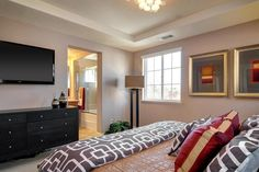 24 Stylish Master Bedrooms With Carpet