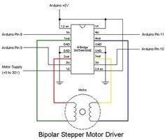 Stepper Motor drive from Arduino