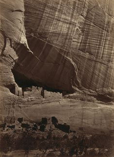 Beautiful photograph by Timothy O'Sullivan, Canyon de Chelle, 1873 #KEENrecess #NationalTrailsDay
