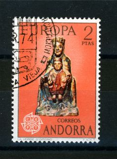 Stamp of #Andorra. Spanish Mail.  More about stamps: http://sammler.com/stamps/