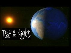 What causes day and night? Videos for children