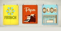 French Paper Co. - Great place to buy high-quality cards and poster paper.