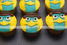 Perry the Platypus « Designs & Desserts { Stylish Party Sweets & Paper Crafts }