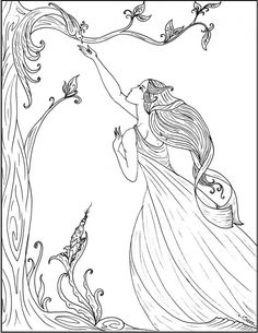 art nouveau coloring pages s mac 39 s place to be 108397 art