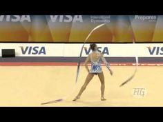 Carolina Rodríguez Cinta Preolímpico Londres 2012 Gimnasia Rítmica