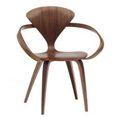 Cherner Classic Walnut Armchair