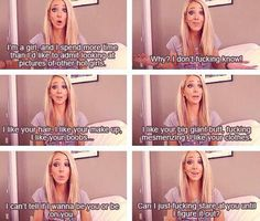 "Jenna Marbles on ""Girl Crushes"" hahah I died laughing watching this video."