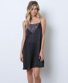 Embraceable You Mini-Dress - Black Lace