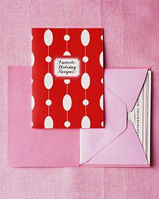 How to create adorable recipe booklets for handmade gifts this Christmas.