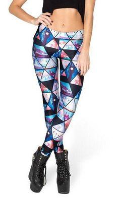a8f8c9ea31272 New Design Cosmic Space Printed Leggings Sexy Fitness Women Fashion Gothic  Creative Shape Slim Popular Pants KZ-007