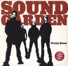 """For Sale - Soundgarden Pretty Noose - Red Vinyl/Numbered Sleeve UK  7"""" vinyl single (7 inch record) - See this and 250,000 other rare & vintage vinyl records, singles, LPs & CDs at http://eil.com"""