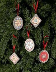 Ornamenti albero di Natale - Ornamenti raffinati dal gusto etnico