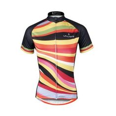 Ilpaladino Colorful Zebra Crossing Women s Quick Dry Short-Sleeve Cycling  Jersey Biking Shirts Breathable Summer 6952cb278