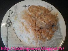 Paupiettes de veau à la crème fraîche et aux champignons