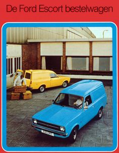 Ford Escort mk 2 van 1978