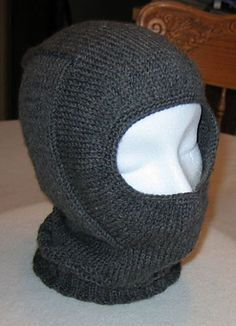 Antifreeze Balaclava. Free Pattern