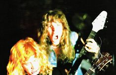 Uploaded by Cliff em all. Find images and videos about metallica, James Hetfield and dave mustaine on We Heart It - the app to get lost in what you love. Dumb Photos, Bad Photos, Metallica, Hard Rock, James Hetfield Guitar, Ron Mcgovney, Jason Newsted, Dave Mustaine, Dimebag Darrell