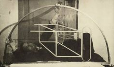 Marcel Duchamp and 'glider'; from The Green Box