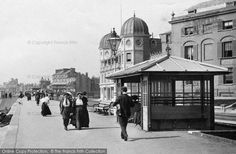 Bognor Regis, A Shelter from Francis Frith Bognor Regis, Old Images, Brighton, Shelter, The Past, Louvre, England, Street View, Building